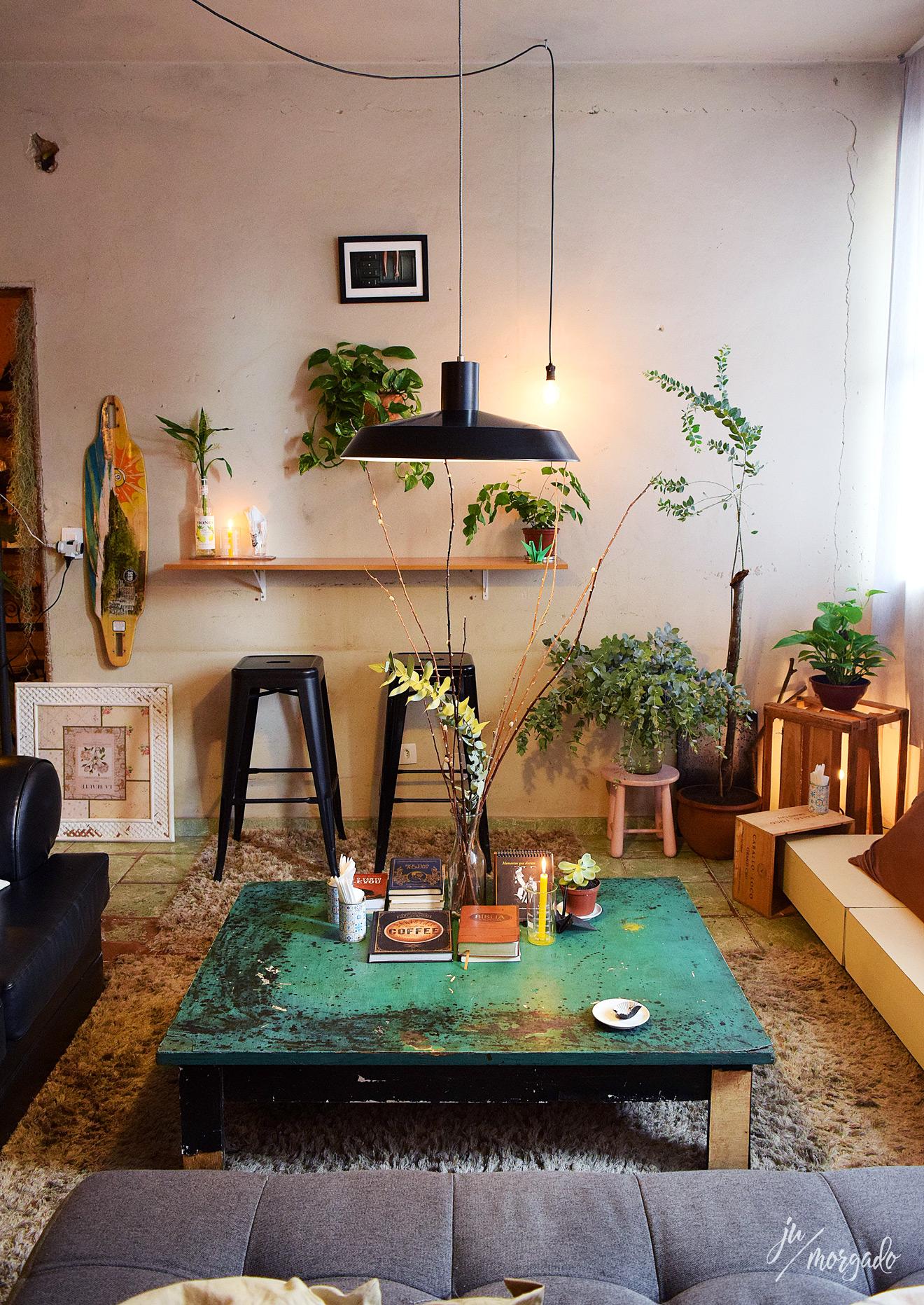 Ambiente do Acervo Café, em Brasília