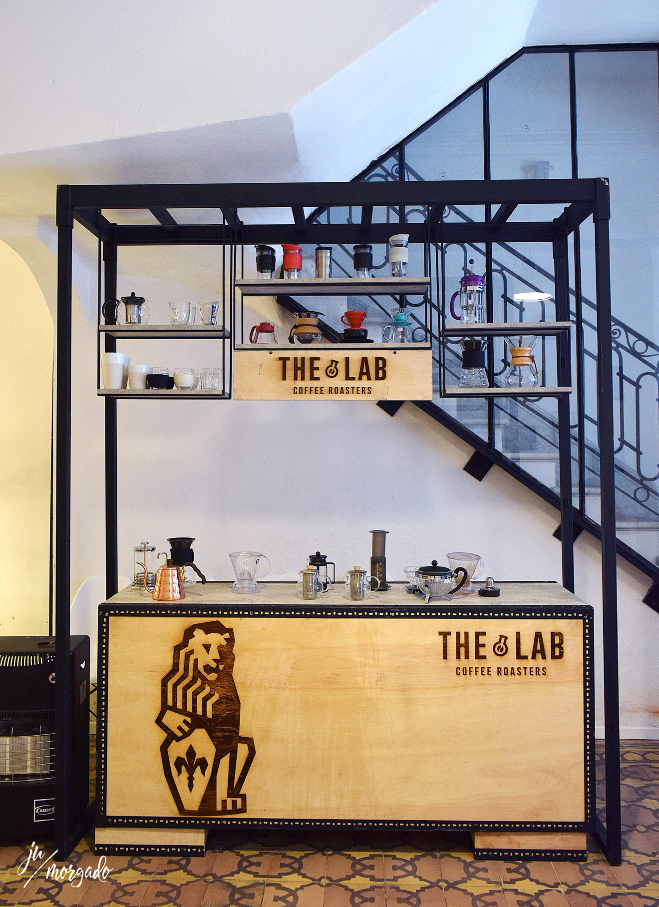 Ambiente do The Lab Coffee Roasters