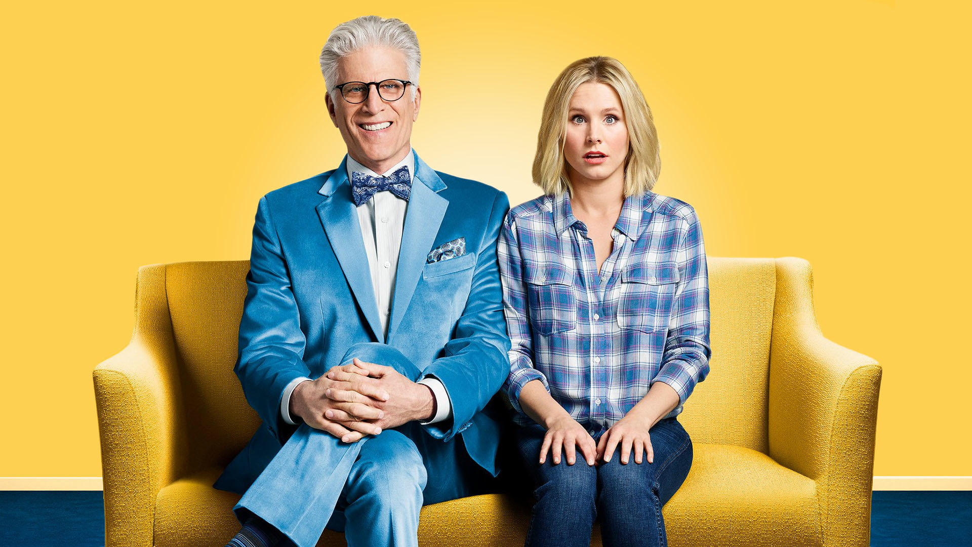 Poster principal de The Good Place.