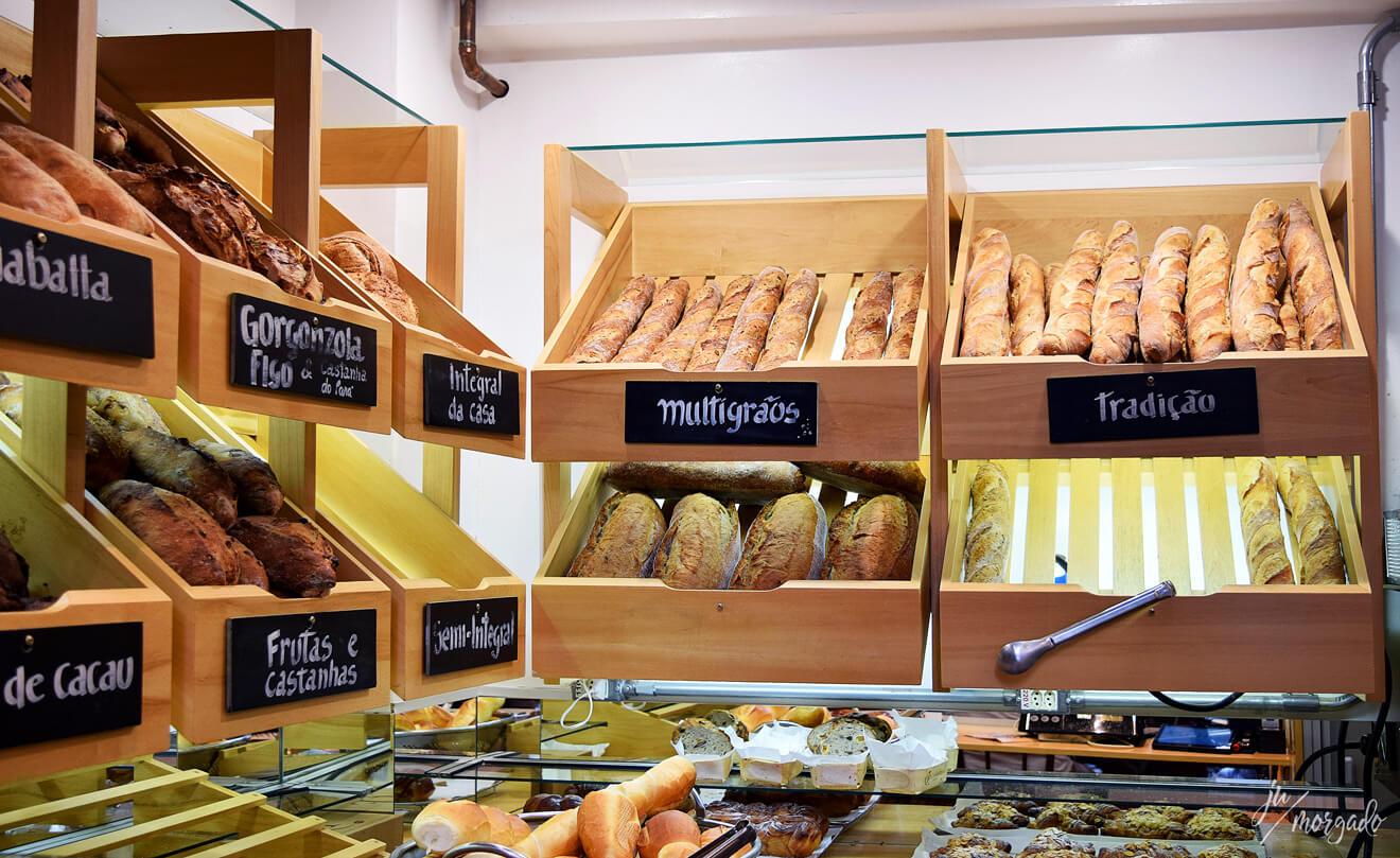 Fabrique, pão e café, em São Paulo.