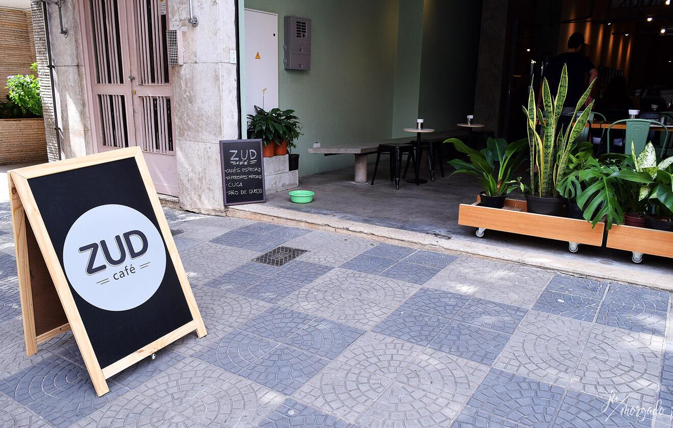 Entrada do ZUD em São Paulo.