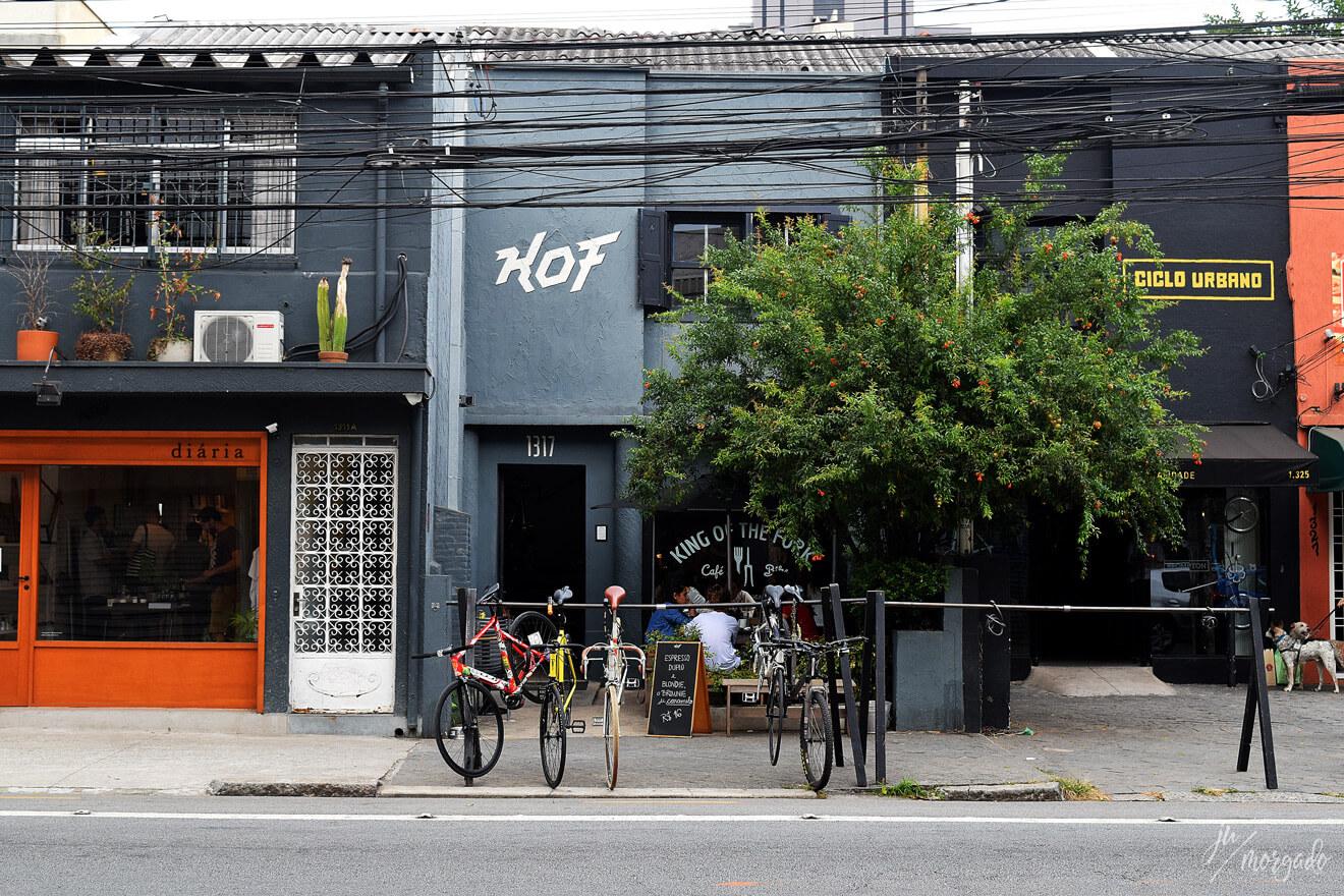 Entrada do KOF, King of Fork em São Paulo.