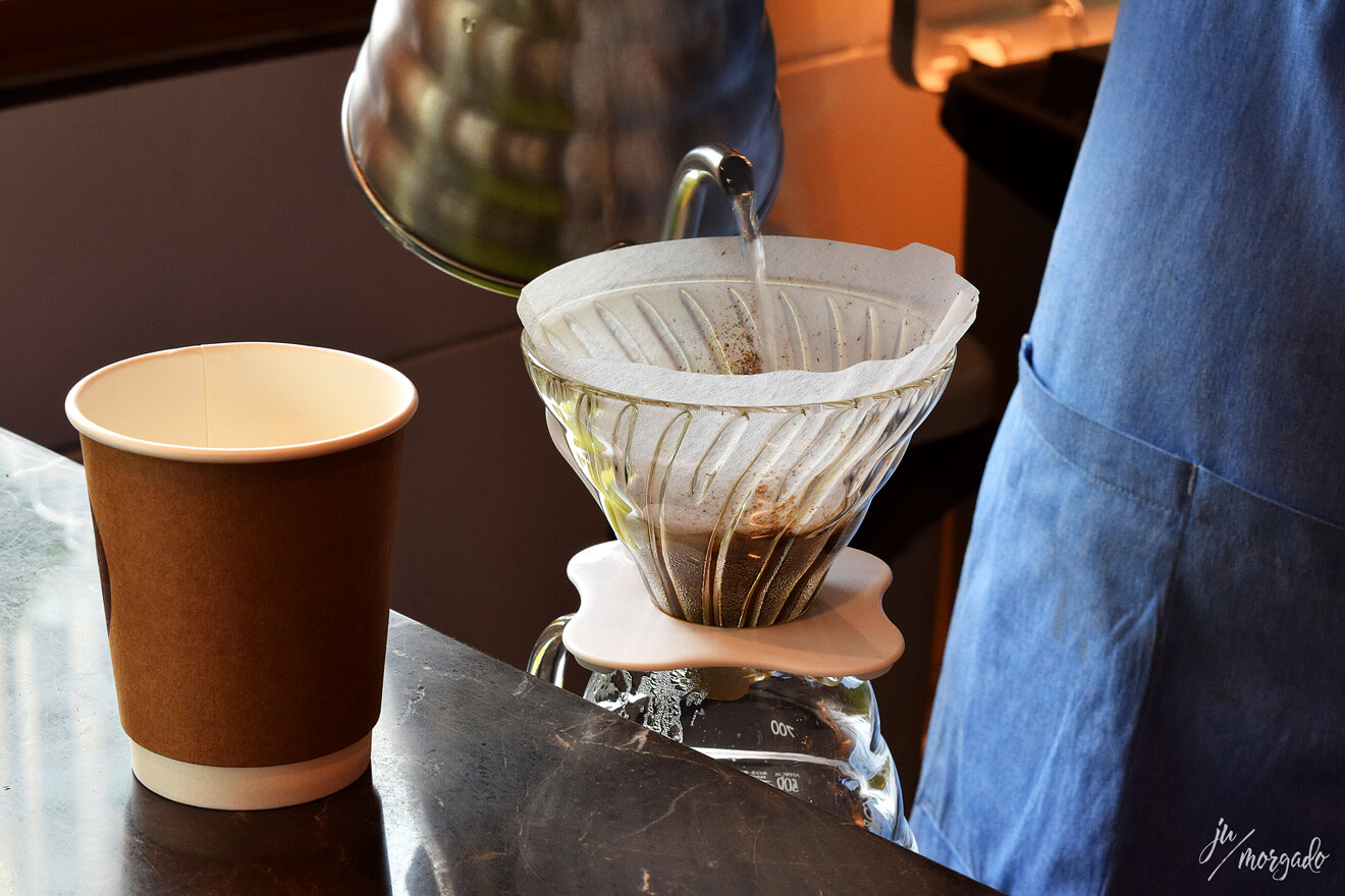 V60 coado no 89˚C Coffee Station.